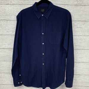 "Globe ""United by Fate"" long sleeve button up shirt"